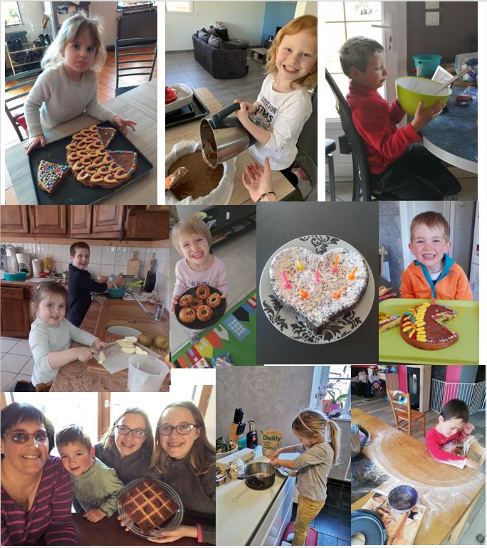 ateliers cuisine en famille école Sacré Coeur Amancey