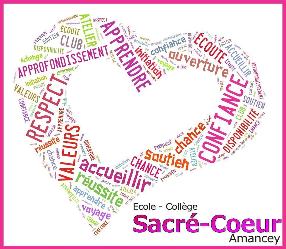 logo école collège Sacré Coeur Amancey