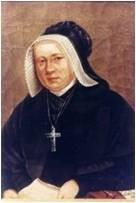 Mère Jacoulet  fondactrice Sainte Famille, Tutelle école-collège Sacré Coeur Amancey