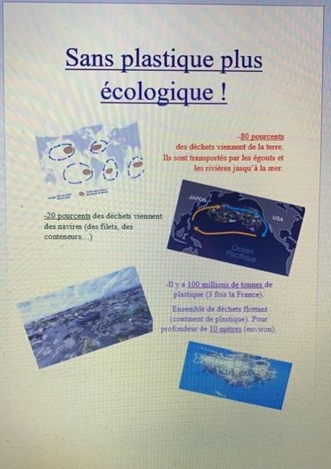 illustration projet sensibilisation mer et océans collège Sacré Coeur Amancey